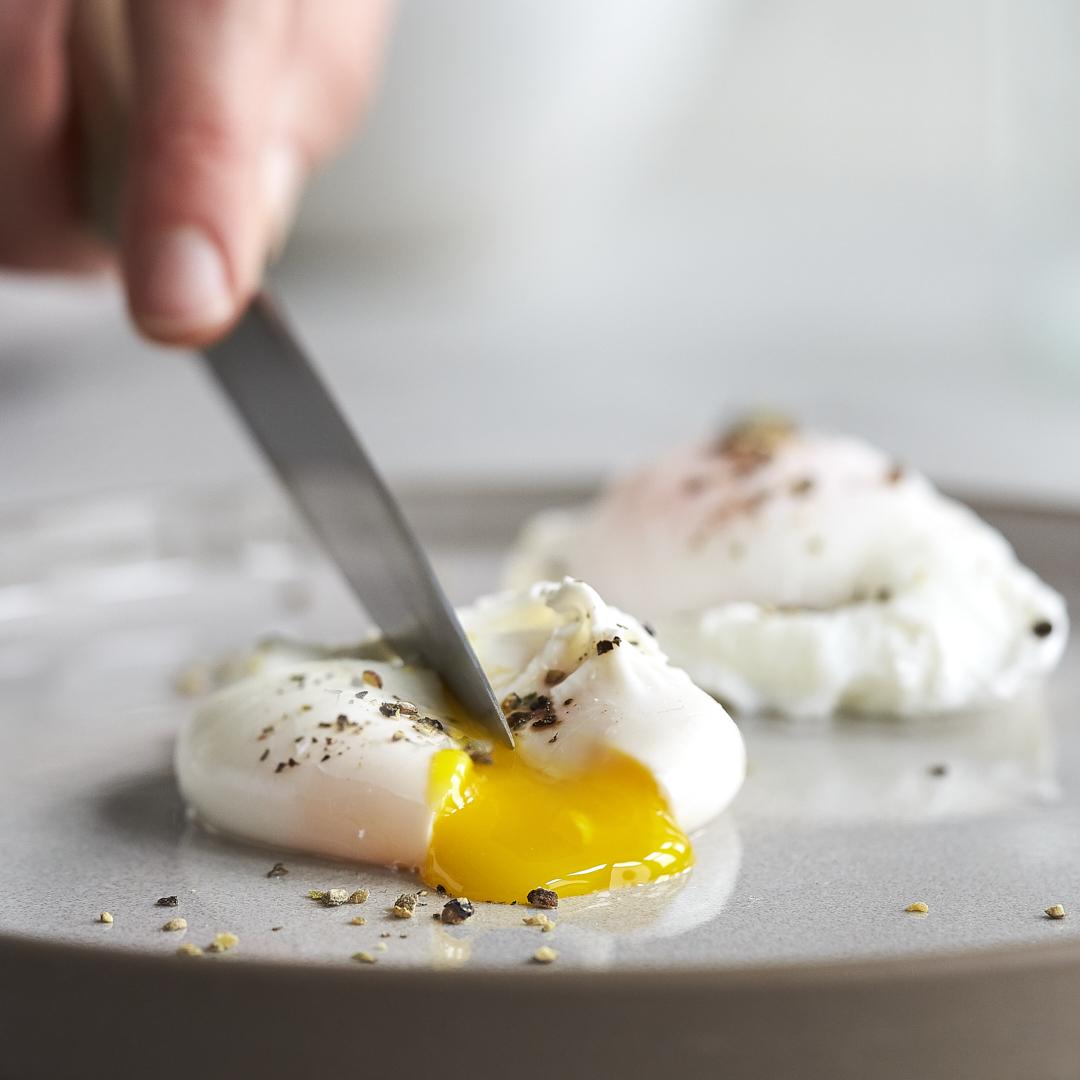 Was sind pochierte eier