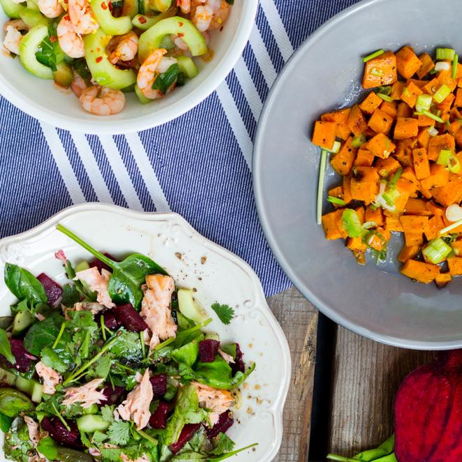 5 Salate, die satt machen