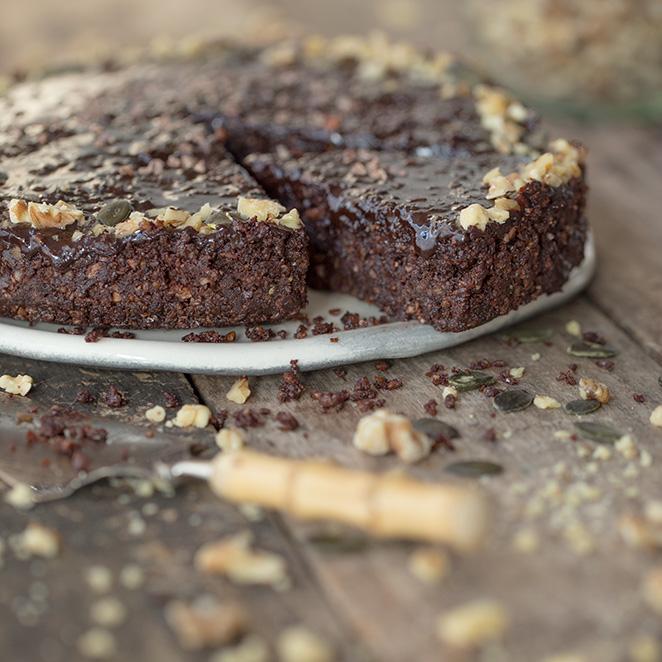 Veganer Schokoladenkuchen Glutenfrei Und Ohne Backen
