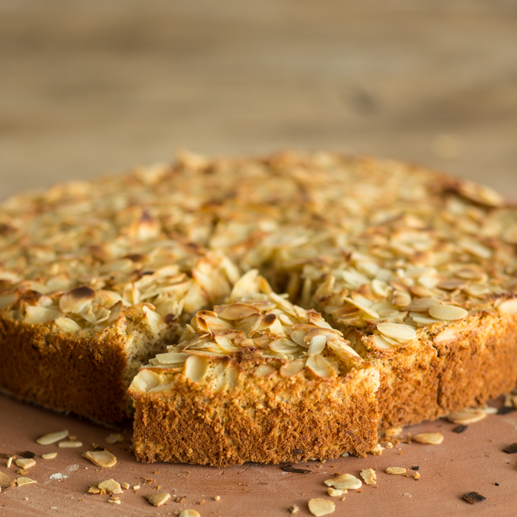 Glutenfreier Mandelkuchen mit Ricotta