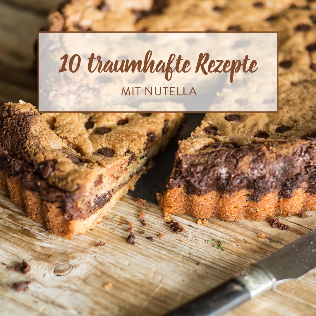 Saftiger Marmorkuchen Mit Eierlikor Und Nutella