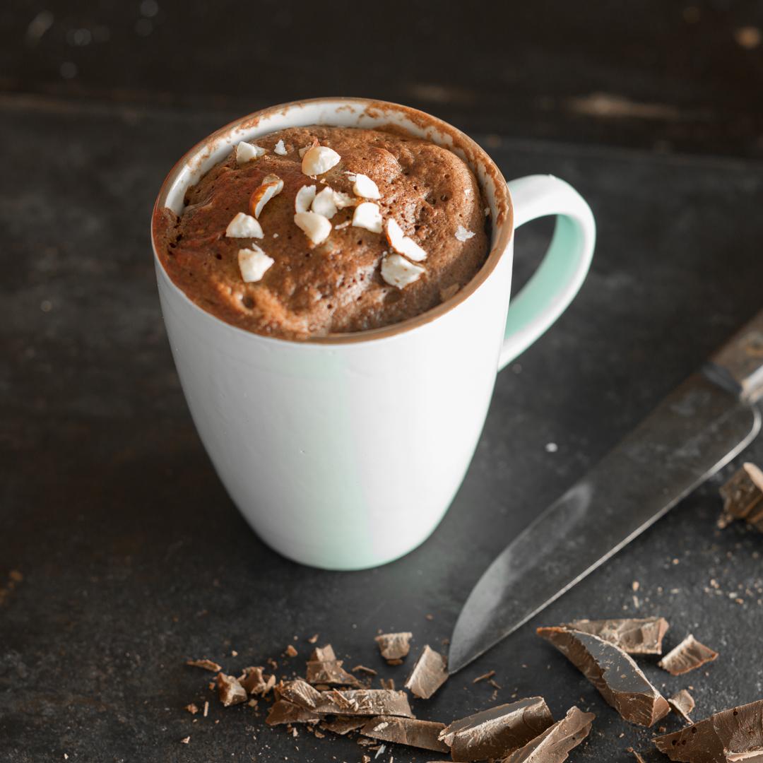 Der Saftigste Schokoladen Tassenkuchen Der Welt