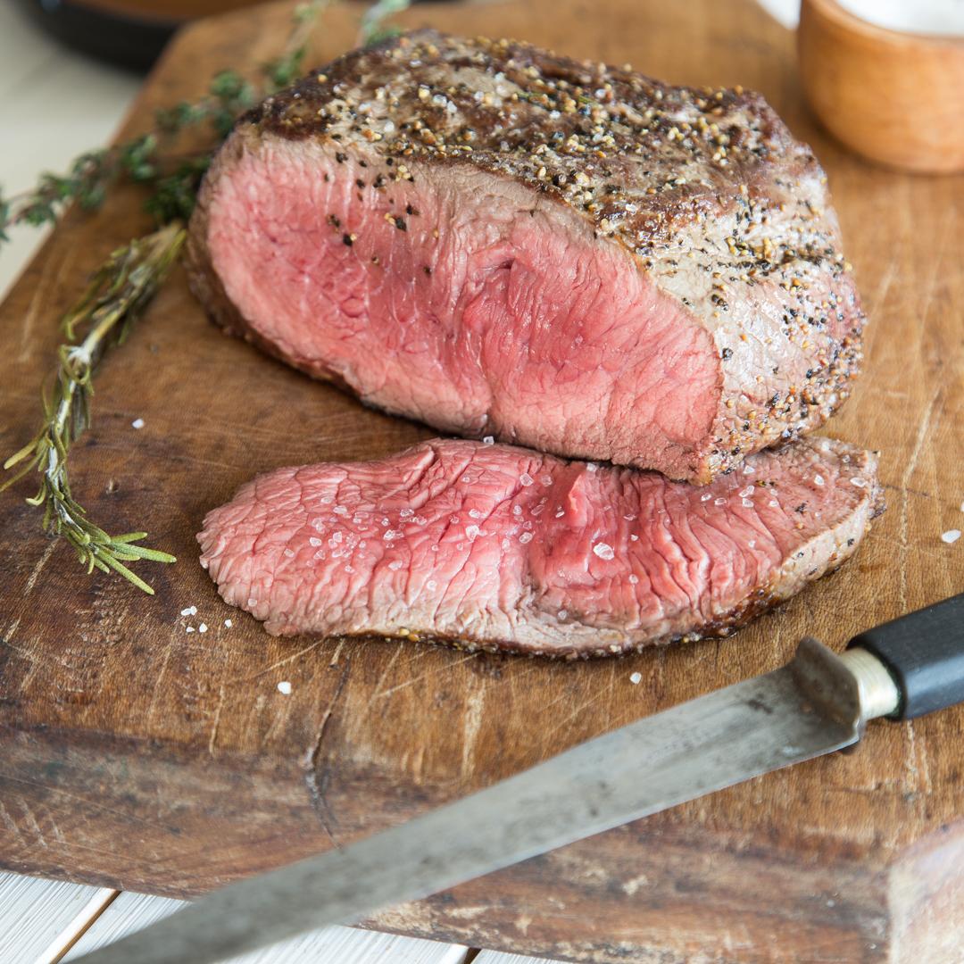 Roastbeef auf den Punkt: Leicht gebräunt, innen zartrosa