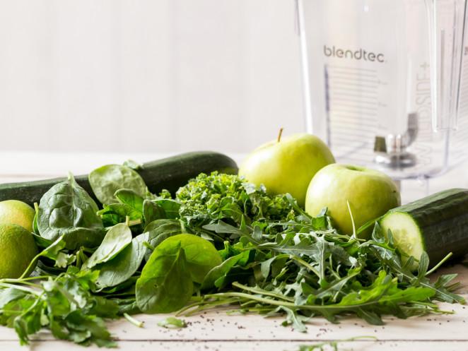 Obst- und Gemüsesmoothies zur Fettverbrennung