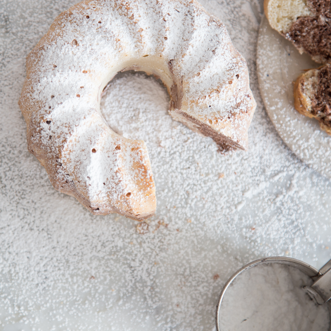 Marmorkuchen ohne milch