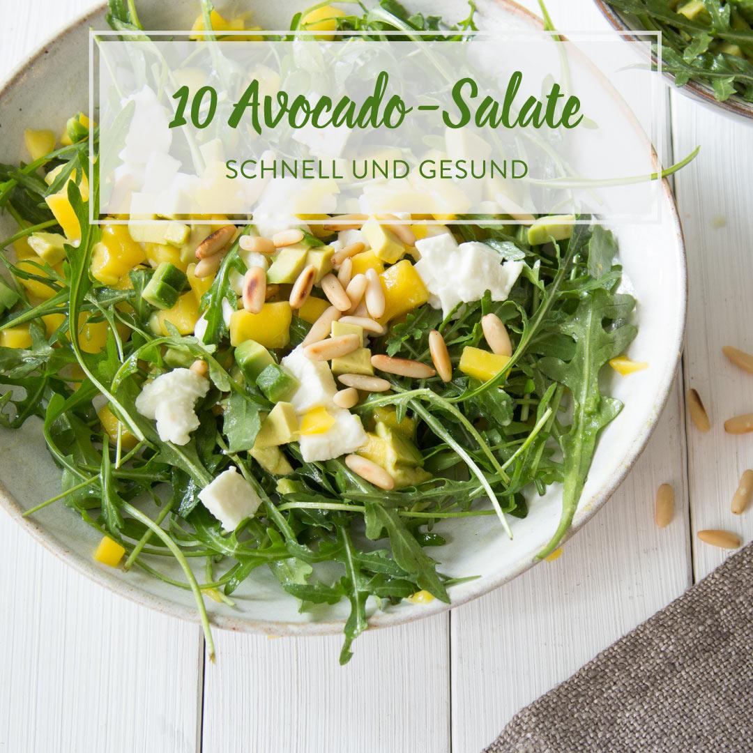 10 raffinierte avocado salate die du in 25 min machen kannst. Black Bedroom Furniture Sets. Home Design Ideas
