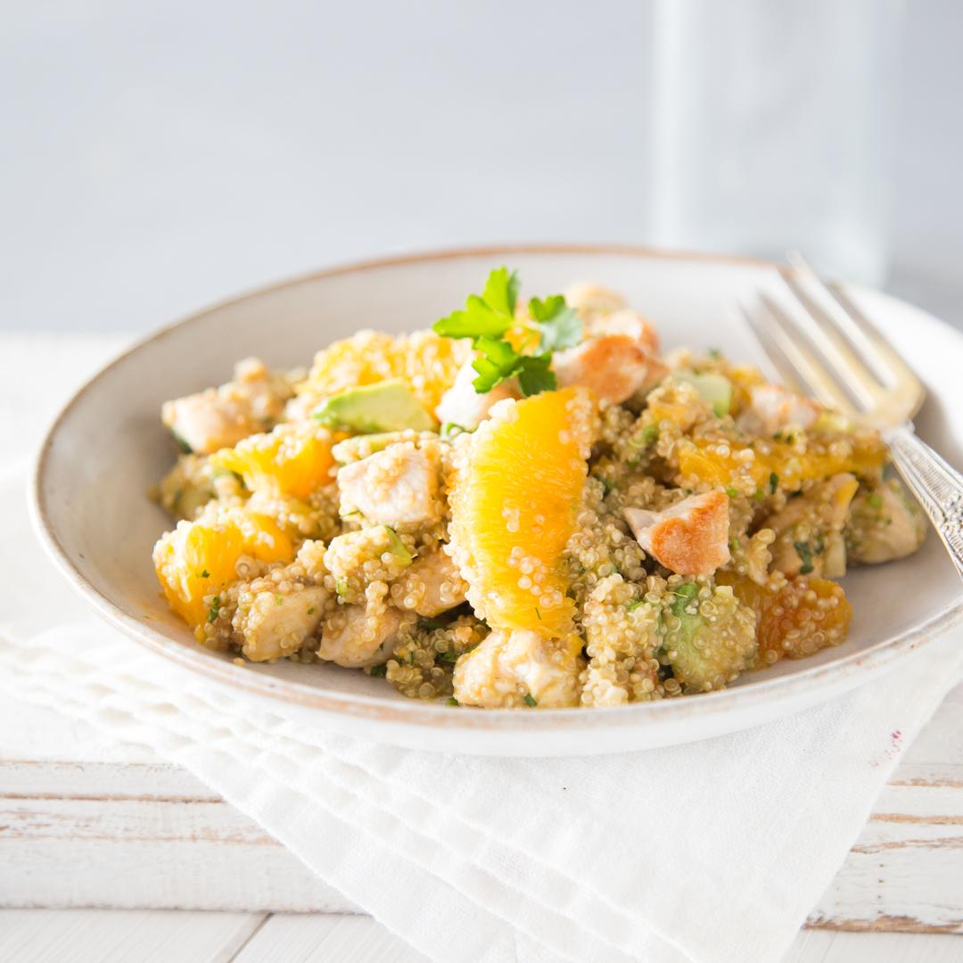 Rezept salat mit hahnchen und ananas