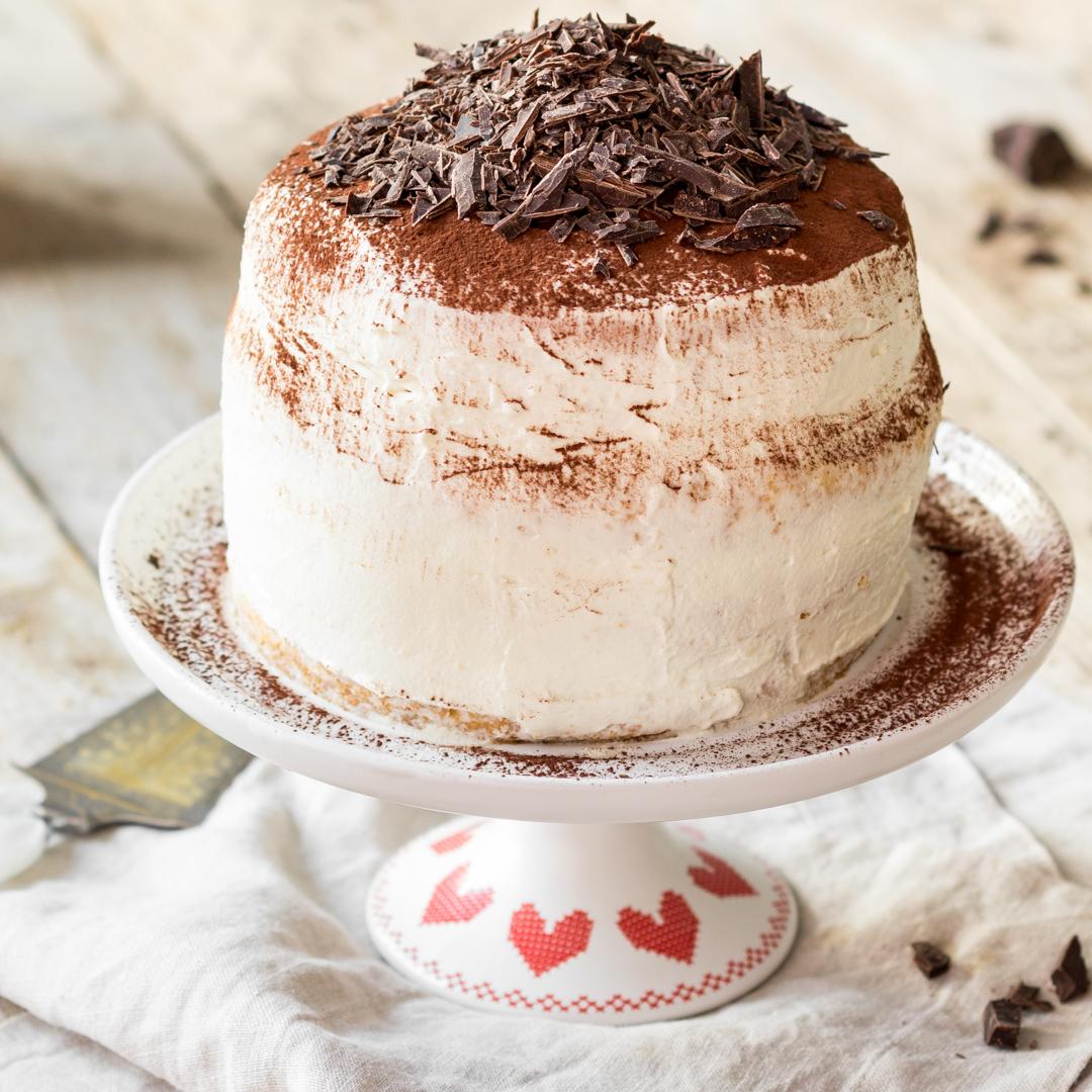 Italienische Tiramisu Torte Fur Dein Dolce Vita