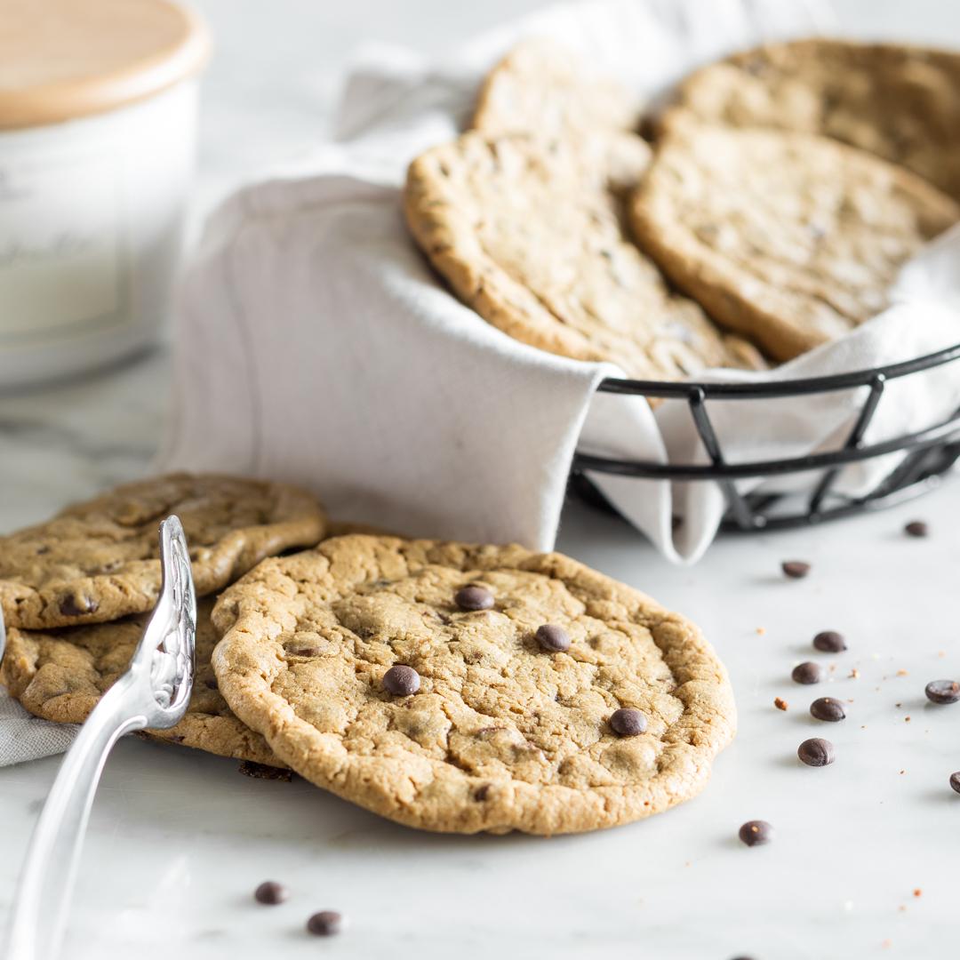 Nur 'chewy' Cookies sind echte Chocolate Chip Cookies