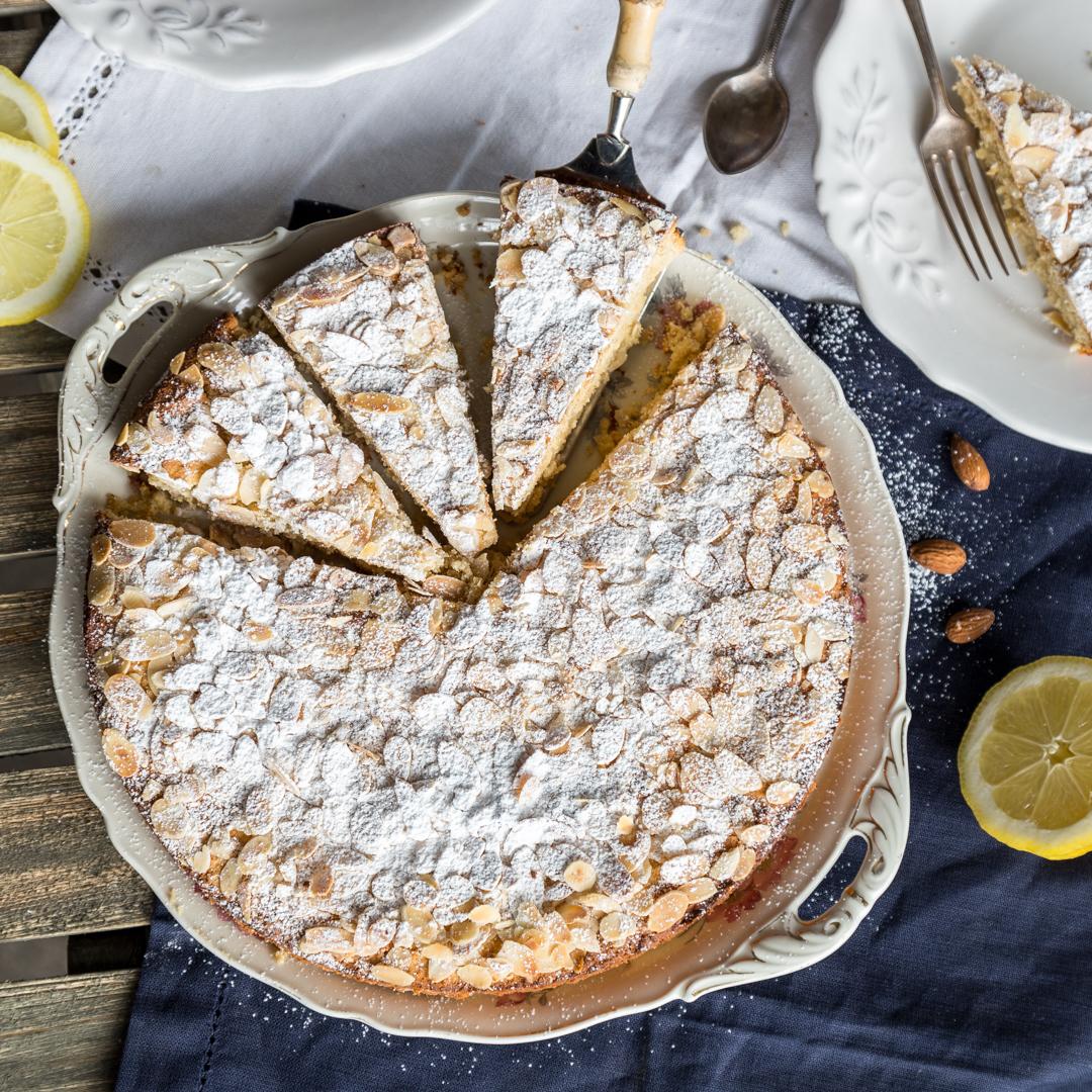 Mandel Zitronenkuchen Mit Weisser Schokolade Glutenfrei