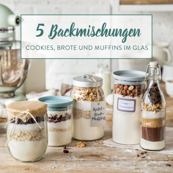 Beliebt DIY Backmischung im Glas: Supersaftige Brownies ET05