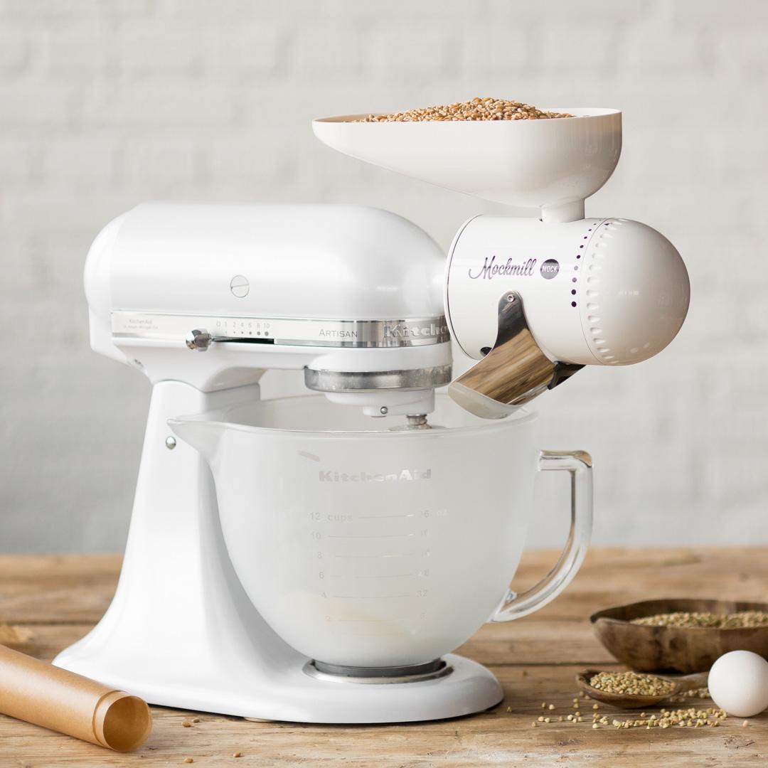 Im Test: Die Mockmill Getreidemühle für deine Küchenmaschine
