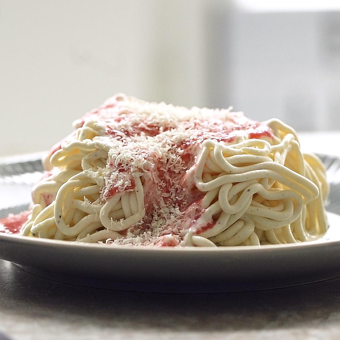 Spaghetti eis selber machen welche presse