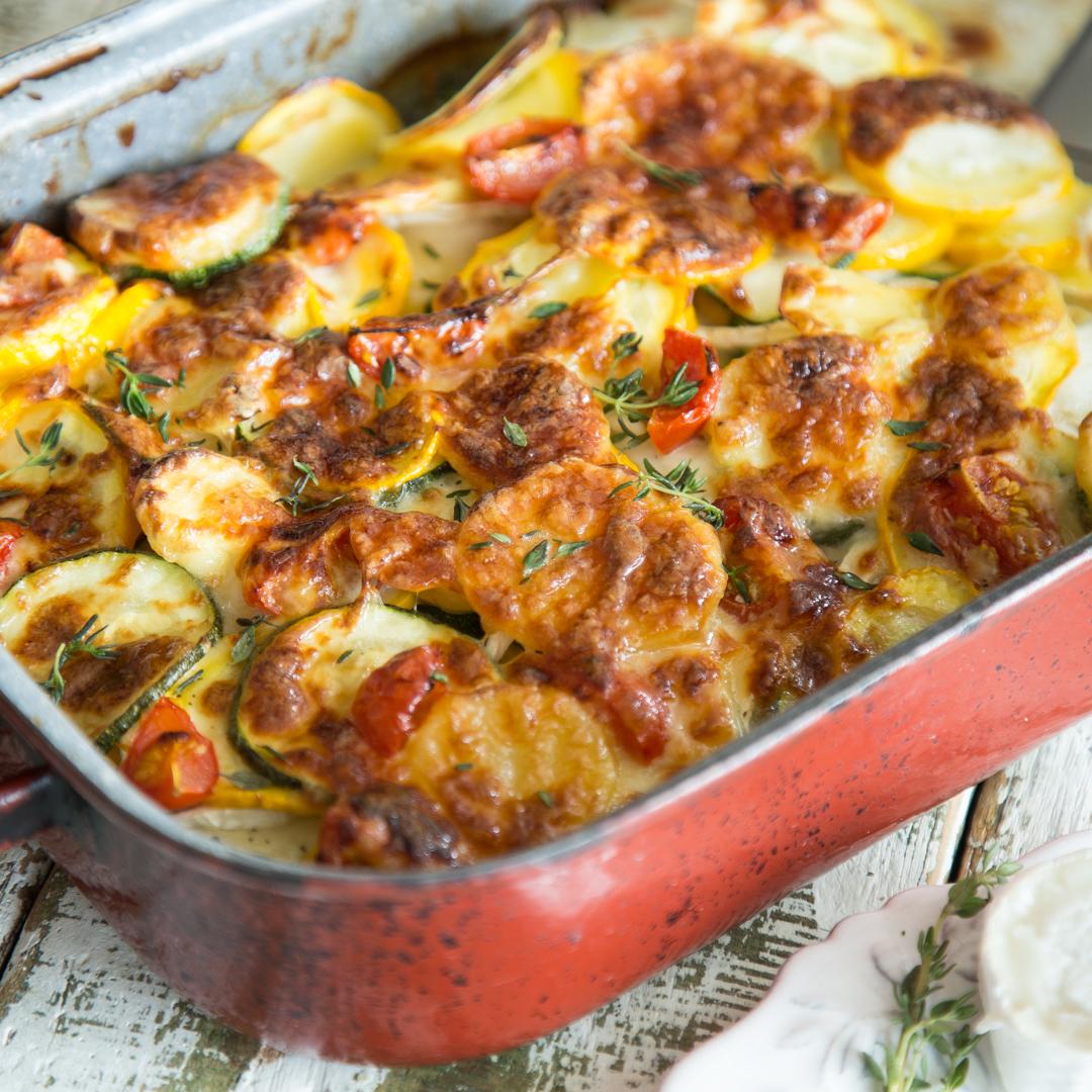 kartoffel kohlrabi auflauf vegetarisch