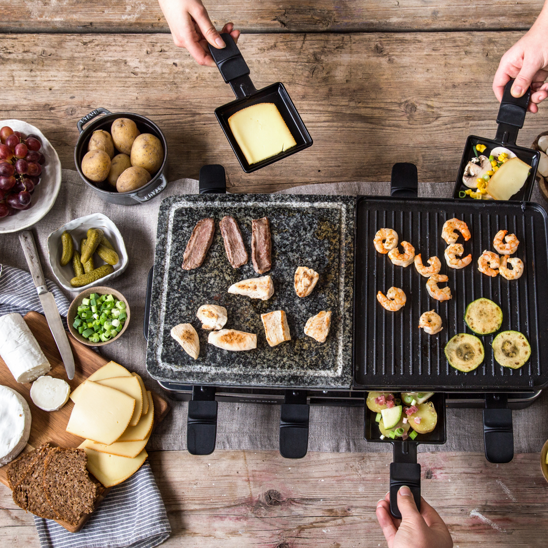 Der große Raclette Guide - von Käse und heißen Pfännchen