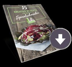 15 kreative Rezepte für deinen Spiralschneider