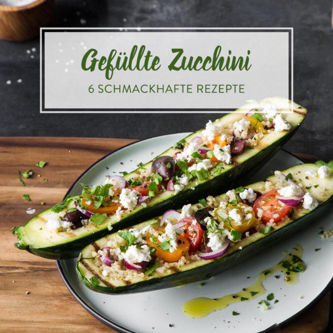 Gefullte zucchini rezept leicht