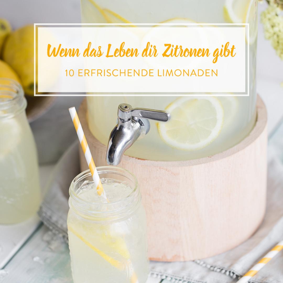 Schenkt dir das leben zitronen mach limonade draus