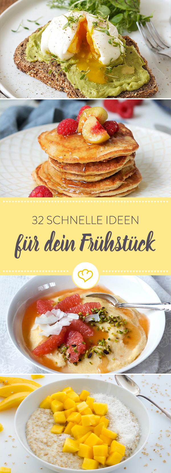 Herzhaftes Frühstück, süßes Frühstück: 5 leckere Rezeptideen