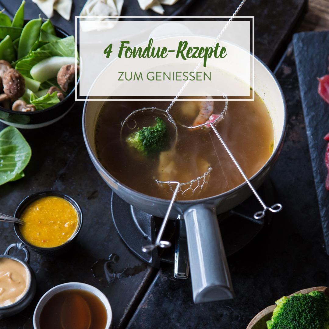 fondue rezepte