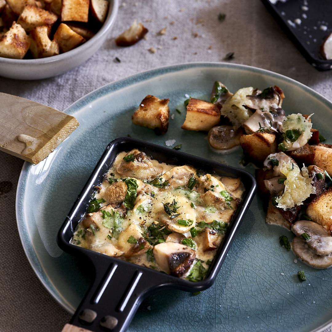 Pilz-Raclette