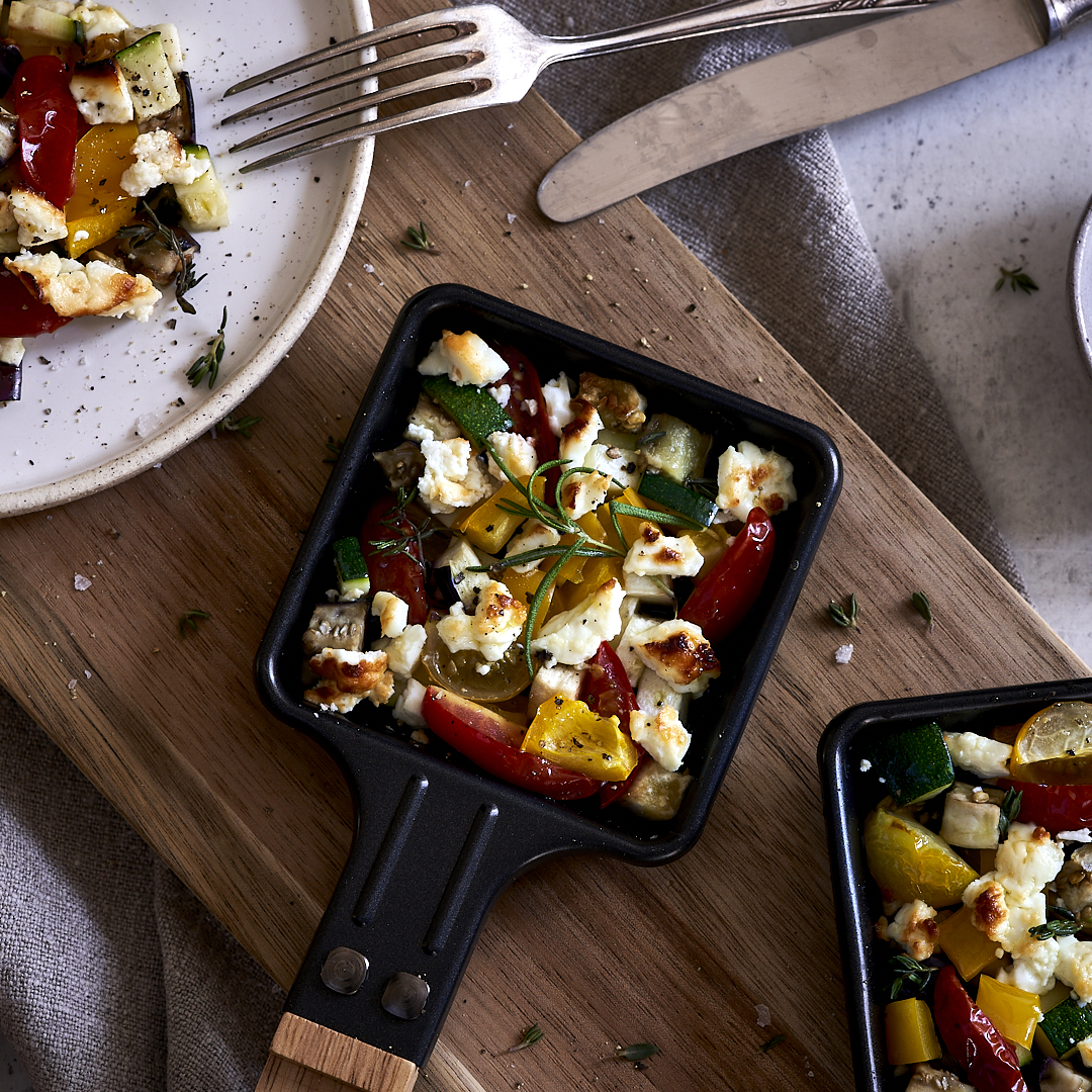 Ratatouille Gratin aus dem Raclette