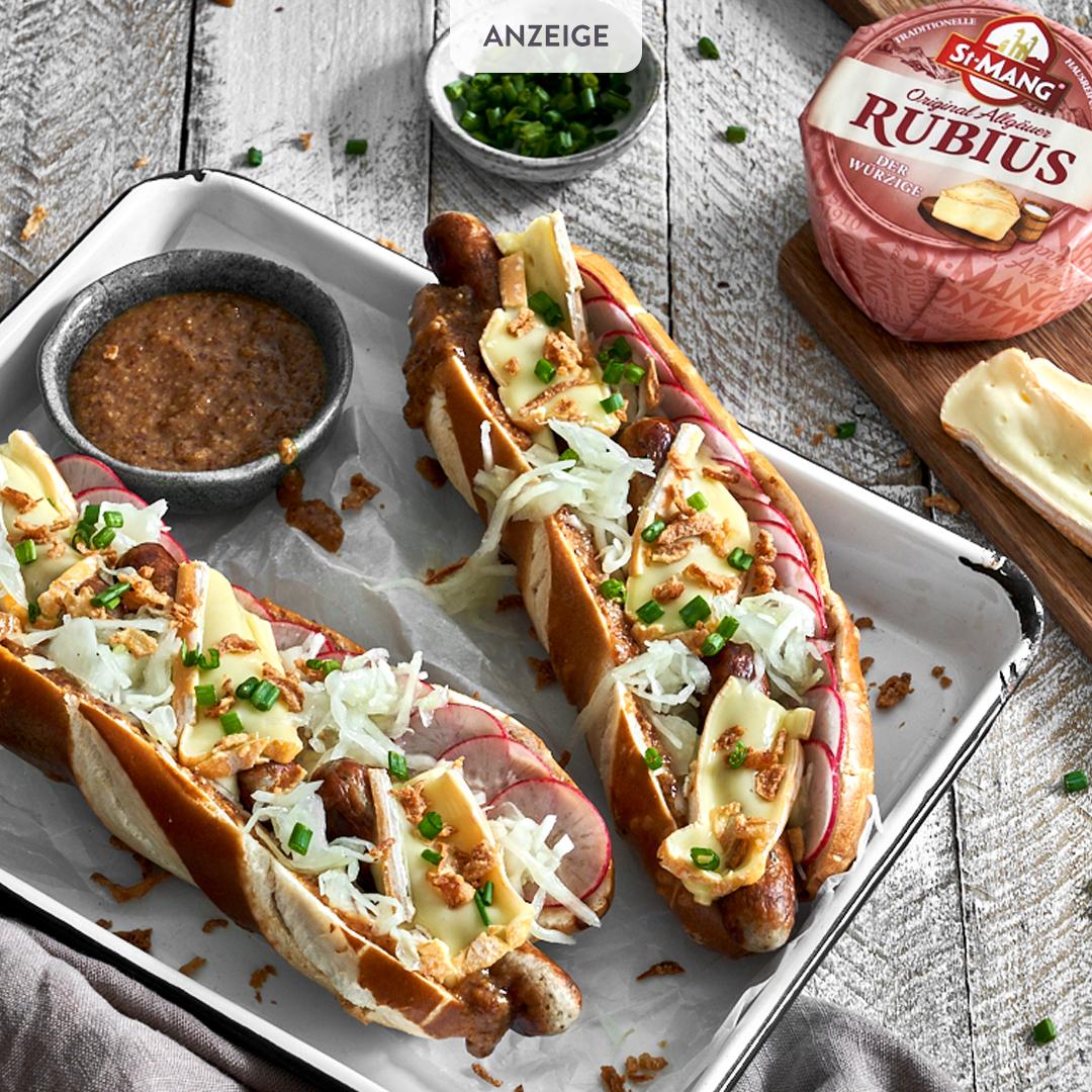 Wiesn Hot Dog mit Rubius
