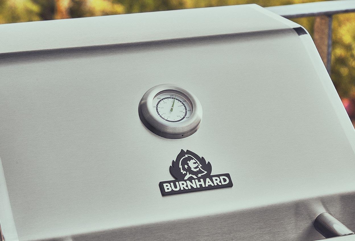 Test Gasgrill Barney Von Burnhard : Barney u brenner gasgrill deluxe mit infrarot keramikbrenner