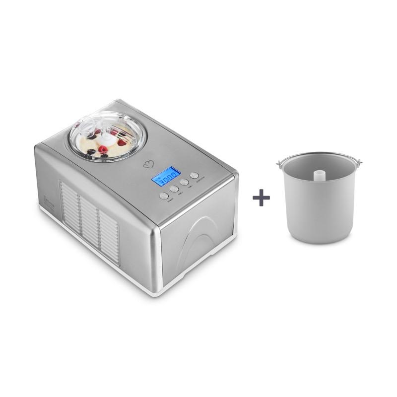 Emma — Eismaschine inkl. Zusatzbehälter