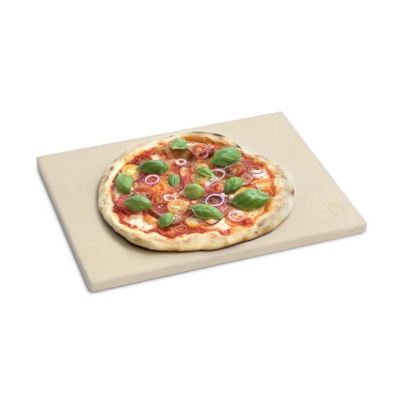 Universal Pizzastein rechteckig — 45 x 34 x 1,5 cm