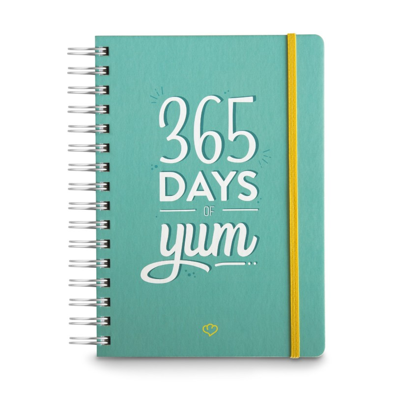 Jahresplaner 365 Days of Yum A5 | Kochbücher | Kochzubehör ...