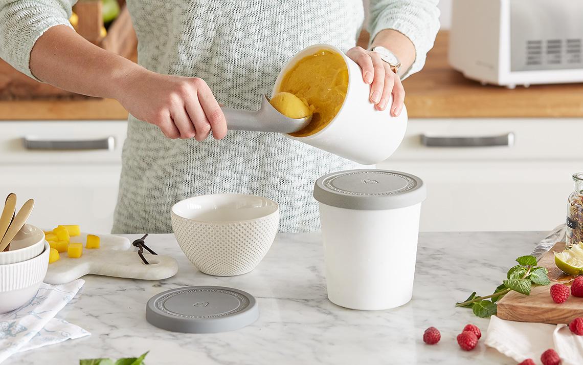 Die Aufbewahrungsbehälter für Eis von Springlane Kitchen