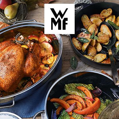Herbstaktion bei WMF! Und bis zu 40 % Rabatt bei Springlane!
